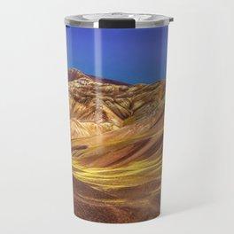 Colored Mountains Landscape, La Rioja, Argentina Travel Mug