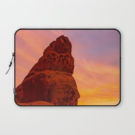Balanced Rock Sunrise - Valley of Fire Laptop Sleeve