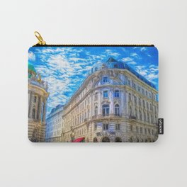 Streets of Vienna Carry-All Pouch