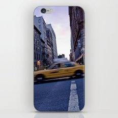 Taxi iPhone & iPod Skin