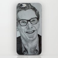 benedict iPhone & iPod Skins featuring Benedict Cumberbatch by Jess5_11