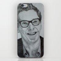 cumberbatch iPhone & iPod Skins featuring Benedict Cumberbatch by Jess5_11