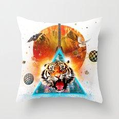 ERR-OR: Tiger Connection Throw Pillow