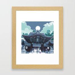 Night in Japan Framed Art Print