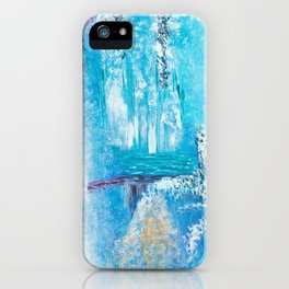 cristal world iPhone Case