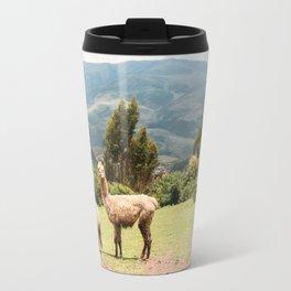 Llama Party Travel Mug