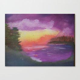Dramatic Twilight Canvas Print