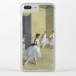 Edgar Degas - The Dance Foyer At The Opera Clear iPhone Case