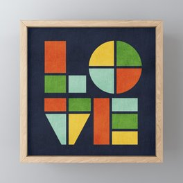 Love is Framed Mini Art Print
