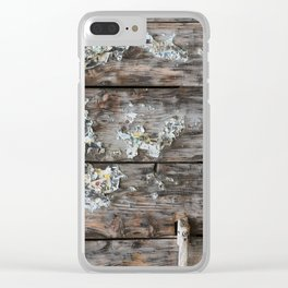 Prohibition Clear iPhone Case
