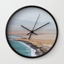 Paracas, Peru I Wall Clock