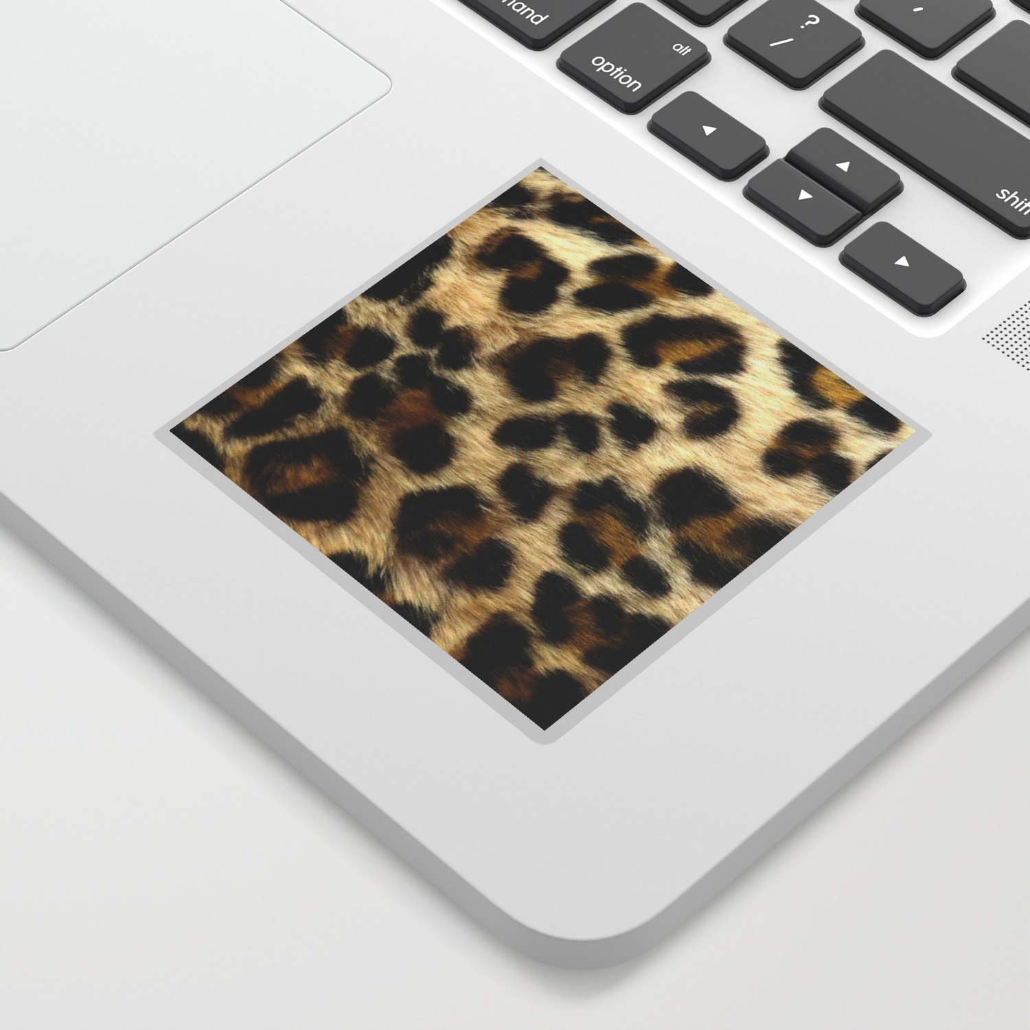 Leopard print pattern animal print design sticker