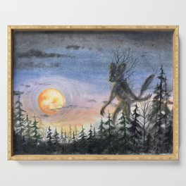 Forest guardian Serving Tray