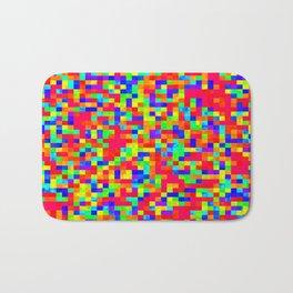 Chromoscope IV ][ Revert Future Raster Bath Mat