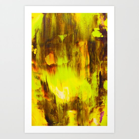 Abstract Painting 35 Art Print