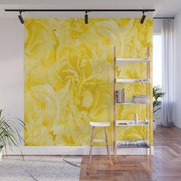 Yellow Peony Petals in Close-up #decor #society6 #buyart Wall Mural