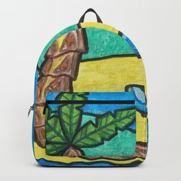 Tropical Beach Backpack