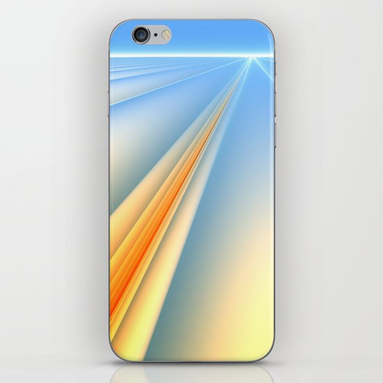 The Blinding Light of Day iPhone & iPod Skin