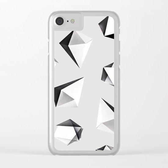 Origami #5 Clear iPhone Case
