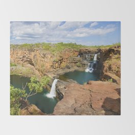 Mitchell Falls Throw Blanket