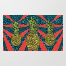 Pineapple wrap |color| Rug