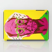larry david iPad Cases featuring Larry David 3 by Alyssa Underwood Contemporary Art