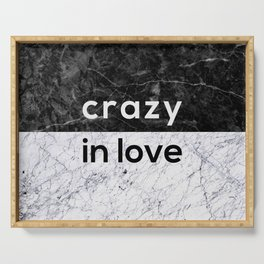 Crazy in Love Serving Tray