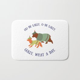 Robin Hood and Little John Bath Mat