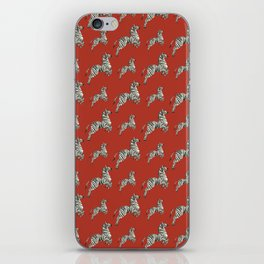 African red zebras iPhone Skin