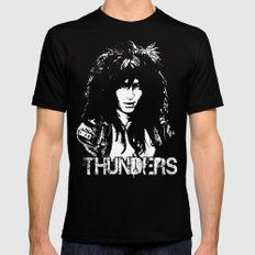 Johnny Thunders Mens Fitted Tee X-LARGE Black