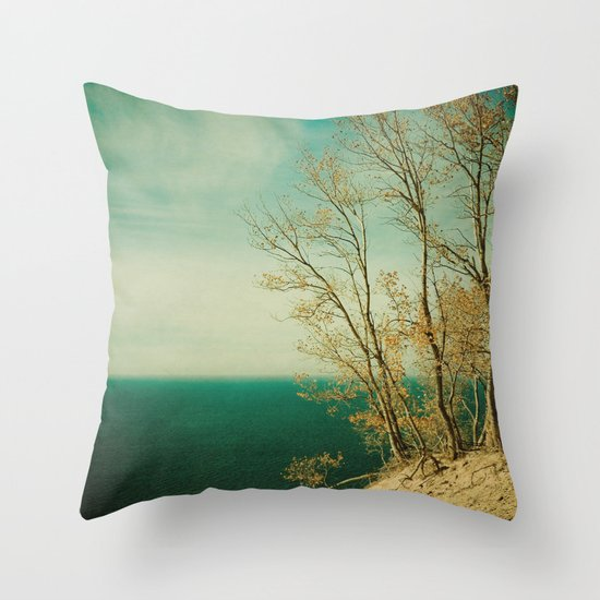 Dare to Leap Throw Pillow