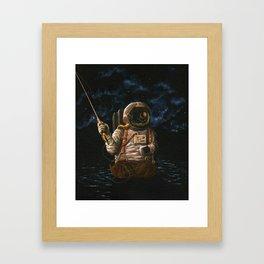 Alone(And Loving It) Framed Art Print