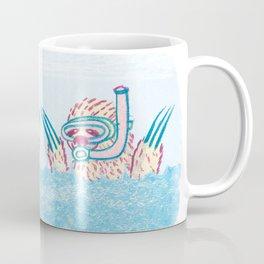 Scuba Sloth Coffee Mug
