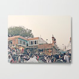 Full Indian Streets III Metal Print