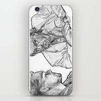 rat iPhone & iPod Skins featuring rat by BzPortraits