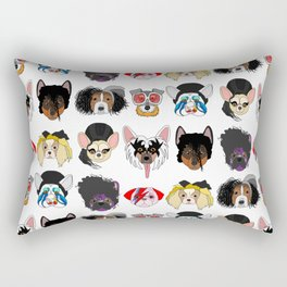 Pop Dogs Rectangular Pillow
