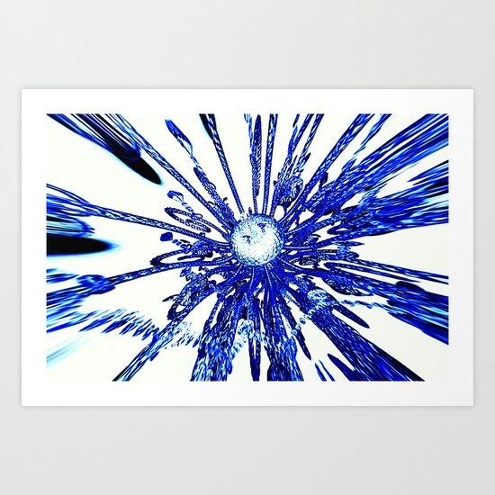 abstract   zz Art Print