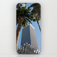 ashton irwin iPhone & iPod Skins featuring Robert Irwin Primal Palm Garden by The Horticult