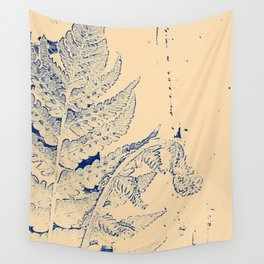 Morris Fern 1 - Purple & Peach Wall Tapestry