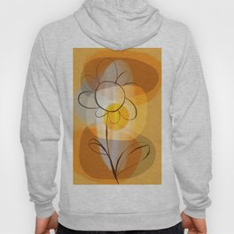 Sunshine flower boho mid century Hoody