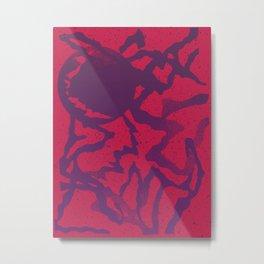 UDDER MOON Metal Print