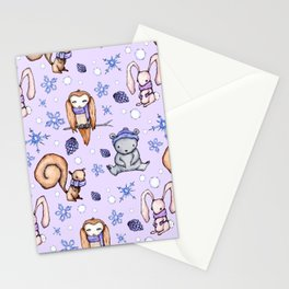 Blizzard Blues IV Stationery Cards