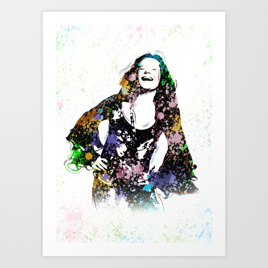 Janis - Piece Of My Heart - Pop Art by wcsmack
