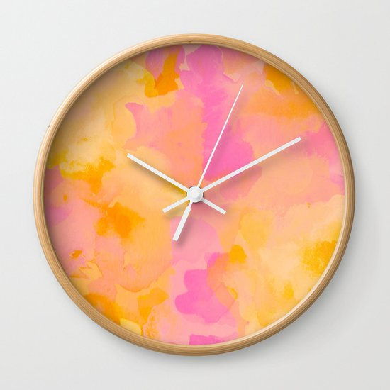 ROYAL BLUSH Wall Clock