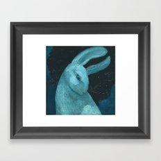 Celestial Sky Ghost Framed Art Print