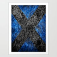 beast Art Prints featuring Beast by Some_Designs