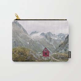 Mint Hut Carry-All Pouch