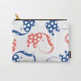 Spotted Dog Pattern Carry-All Pouch