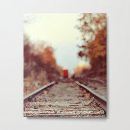Train Song Metal Print