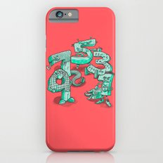 Odd Numbers Slim Case iPhone 6s